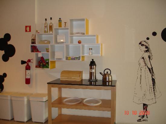 The Poets Inn: cocina