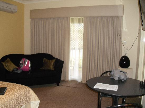 Vintages Accommodation: room veiw