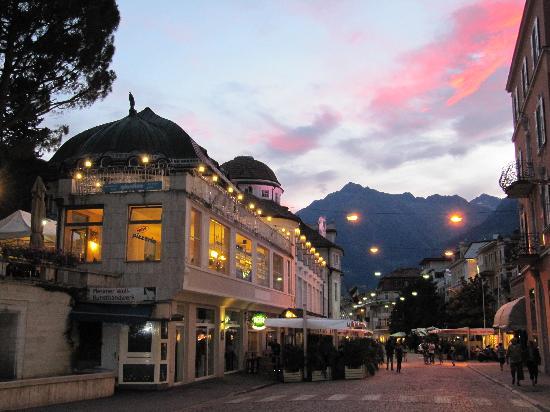Hotel Villa Tivoli: la cité deMerano