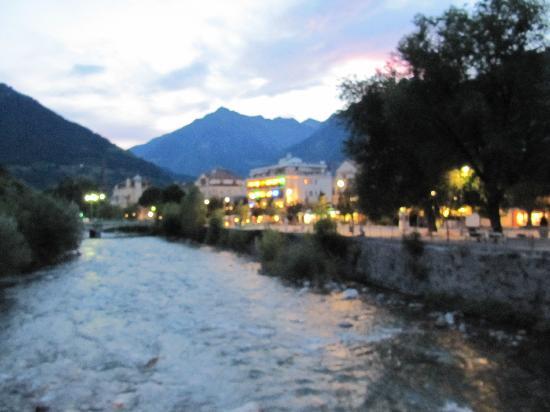 Hotel Villa Tivoli: le centre-ville de Merano