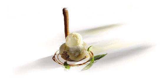 Agorregi jatetxea : One of the desserts in the menu