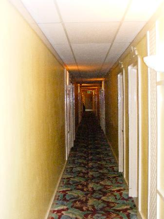 Club Land'or Resort: hotel hallway, photo cannot capture the smell