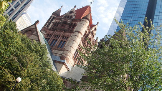 Trinity Church and Hancock Tower I