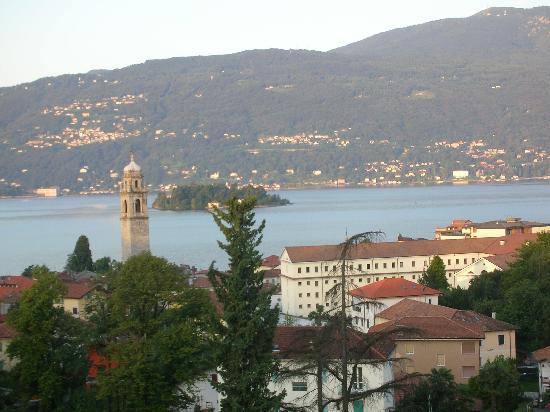 Hotel Castagnola: vue de la chambre 408