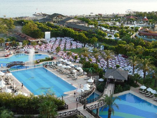Sherwood Breezes Resort: View from the 7th floor