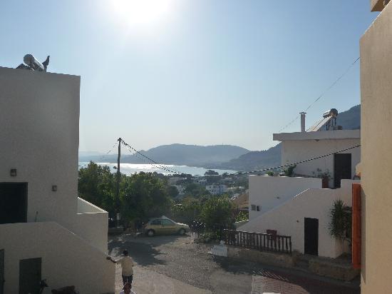Coloma Studios: vista baia di Pefki