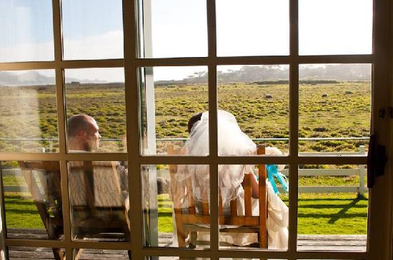 Mission Ranch: Blick aus dem Fenster