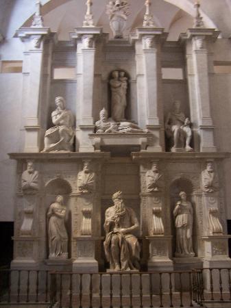 San Pietro in Vincoli: La perfección del Moisés