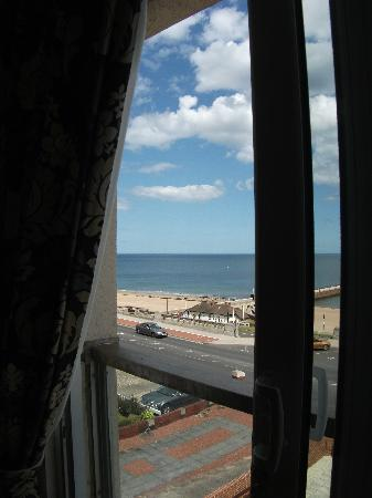 Queen Vic: view from window/balcony