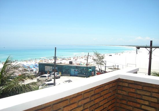 Acuario Pousada : vista dal balcone