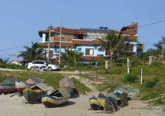 Acuario Pousada : dalla spiaggia