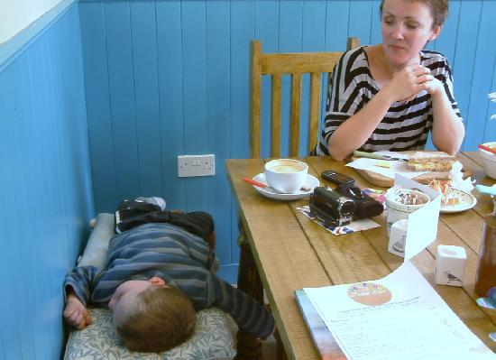 The Real Food Cafe and Restaurant: So relaxed over lunch l fell asleep!
