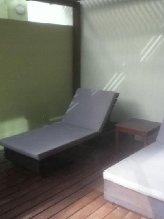 Tryp Montevideo Hotel: solarium hab 102