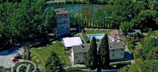 Subbiano, Italy: Foto area Hotel Relais Toscana Torre Santa Flora