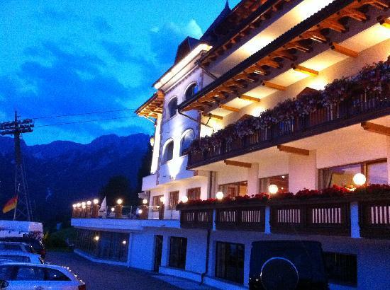 Berghotel Zirm : di sera