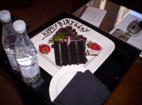 Omni San Francisco Hotel: Yum!