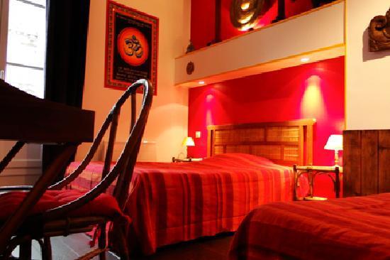 Hotel Archange: La chambre 16