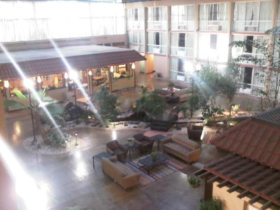 Red Roof Inn & Conference Center Lubbock: Nice Interior Courtyard
