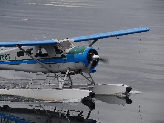 Spirit of Alaska Wilderness Adventures Lodge: Float plane ride included in price