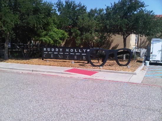 The Buddy Holly Center: Buddy Holly Museum Sign