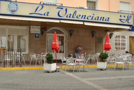 Hotel La Valenciana: TERRAZA