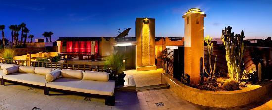 Villa Makassar : Terrasse