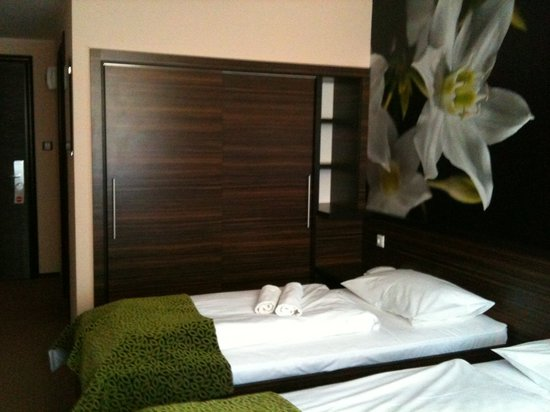Green Hotel: Das Zimmer neu eingerichtet und sauber