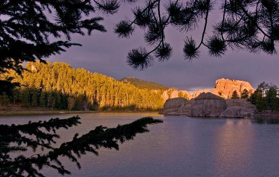 Sylvan Lake in Custer, South Dakota
