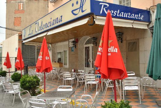 Hotel La Valenciana: TERRAZA.