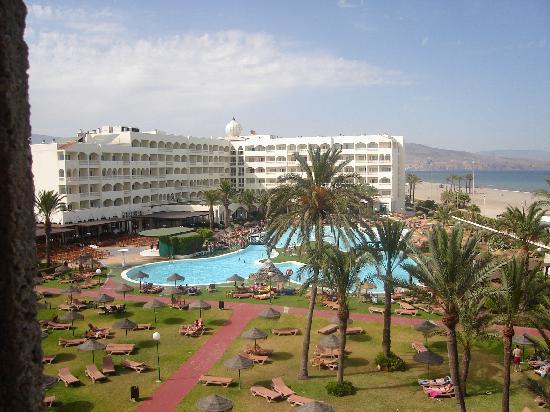 Evenia Zoraida Park: View from our balcony