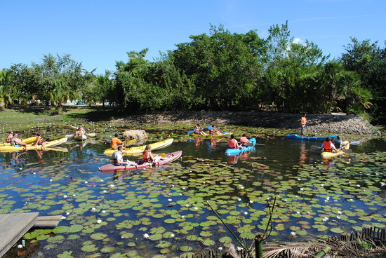 Bacab Eco Park: Guests starting Kayak tour