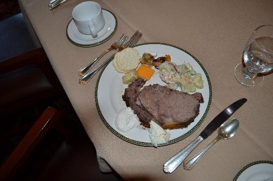 Eagle Ridge Resort & Spa: Prime Rib. Yummy!