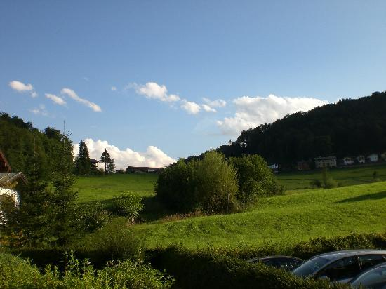 """Alpenhotel """"garni"""" Weiherbach: View from Apartment 22"""
