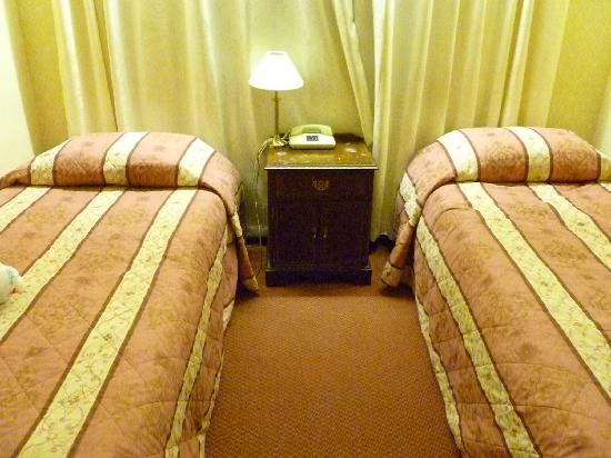 The Adamson Hotel: Small Room Twin Beds