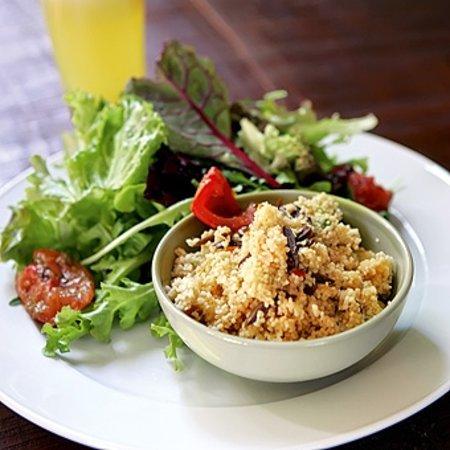 El Arbol: ensalada de quinoa