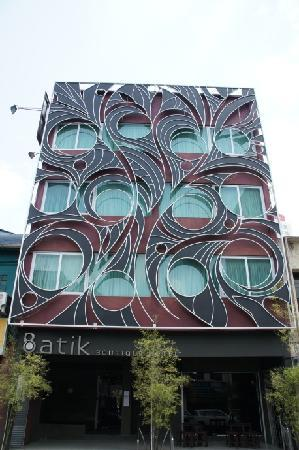 Batik Boutique Hotel: Nice design.