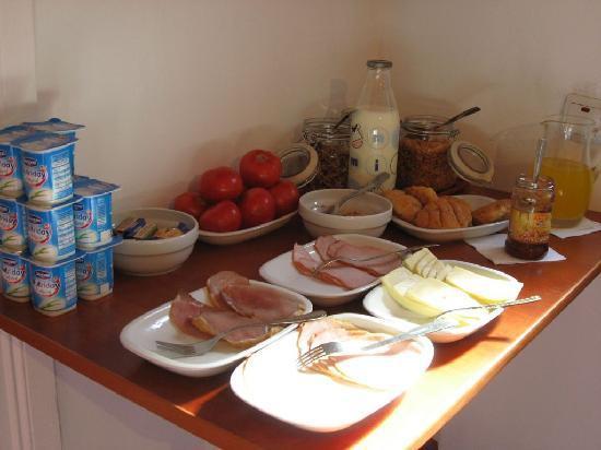 Casa Baciu: desayuno