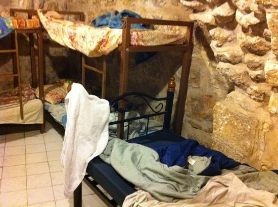 Citadel Youth Hostel : la grotte sans aération