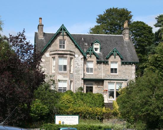 Craigroyston House and Lodge: Craigroyston House