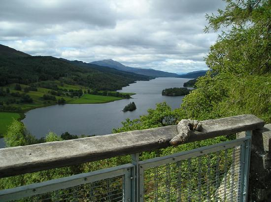 Craigroyston House and Lodge: Nearby Loch Tummel from Queen's View