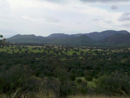 Sunglow Ranch - Arizona Guest Ranch and Resort: view from top of moutain on hiking trail