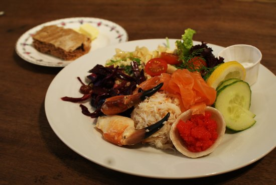 The Real Food Cafe and Restaurant: Westray Crab Salad
