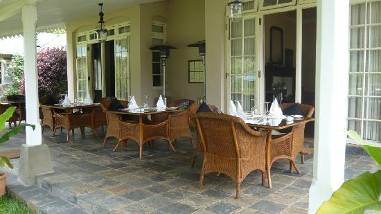 Ceylon Tea Trails: Main terrace