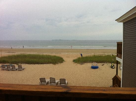 Echo Motel & Oceanfront Cottages: View from balcony