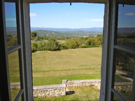 La Bastide des Magnans: View from one of the windows of the room