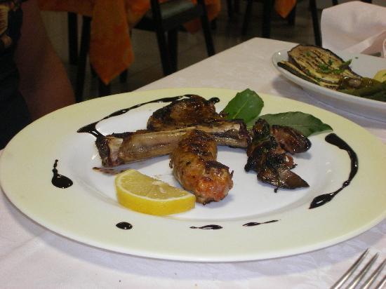 Hotel Palatinum, piatto di carne locale