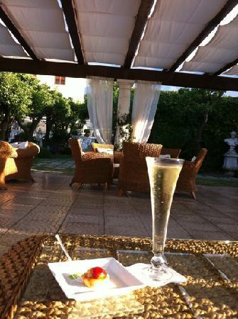 La Medusa Hotel & BoutiqueSpa: welkomst drankje