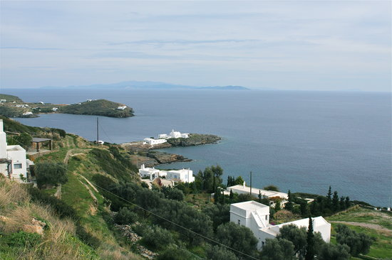 Sifnos, Greece: overall view