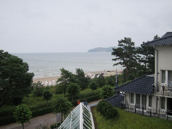 Dorint Strandhotel Binz/Rügen: View from our balcony