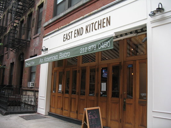 East End Kitchen Magnificent East End Kitchen New York City  Upper East Side  Menu Prices Decorating Design